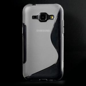 Transparentní gelový s-line obal Samsung Galaxy J1 - 2