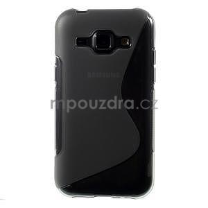 Šedý gelový s-line obal Samsung Galaxy J1 - 2