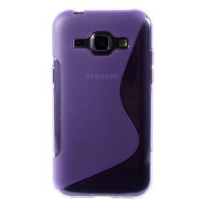 Fialový gelový s-line obal Samsung Galaxy J1 - 2
