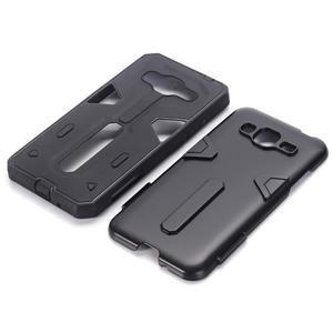 High outdoor odolný kryt na mobil Samsung Galaxy J3 (2016) - černý - 2