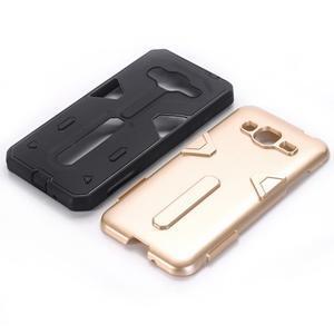 High outdoor odolný kryt na mobil Samsung Galaxy J3 (2016) - zlatý - 2