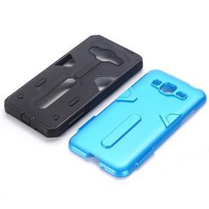 High outdoor odolný kryt na mobil Samsung Galaxy J3 (2016) - modrý - 2