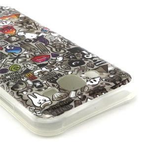 Imda gelový obal na mobil Samsung Galaxy J5 - symboly - 2