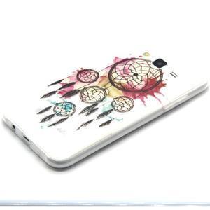 Trasnparent gelový obal na Samsung Galaxy J5 - lapač snů - 2