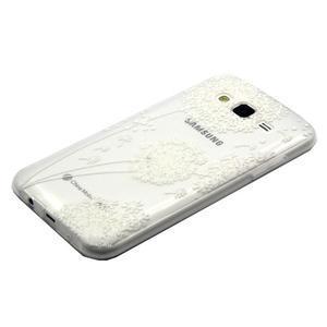 Trasnparent gelový obal na Samsung Galaxy J5 - pampeliška - 2