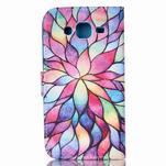 Pictu peněženkové pouzdro na Samsung Galaxy J5 - barevné lístky - 2/6