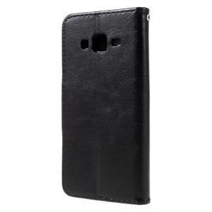 Peněženkové pouzdro na mobil Samsung Galaxy J5 - černé - 2
