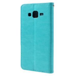 Peněženkové pouzdro na mobil Samsung Galaxy J5 - modré - 2