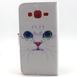 Knížkové pouzdro na mobil Samsung Galaxy J5 - kočička - 2