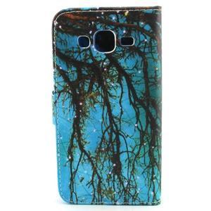 Knížkové pouzdro na mobil Samsung Galaxy J5 - strom - 2
