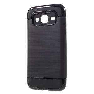 Odolný obal na mobil Samsung Galaxy J5 - černý - 2