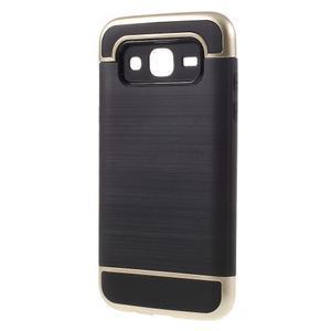 Odolný obal na mobil Samsung Galaxy J5 - zlatý - 2