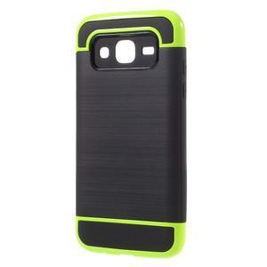 Odolný obal na mobil Samsung Galaxy J5 - zelený - 2