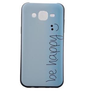 Jelly gelový obal na mobil Samsung Galaxy J5 - be happy - 2
