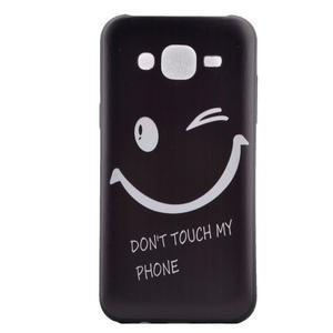 Jelly gelový obal na mobil Samsung Galaxy J5 - nedotýkat se - 2