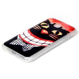 Softy gelový obal na mobil Samsung Galaxy J5 - kocour - 2