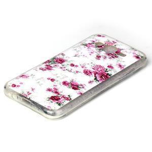 Softy gelový obal na mobil Samsung Galaxy J5 - květiny - 2