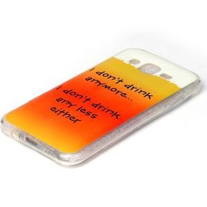 Softy gelový obal na mobil Samsung Galaxy J5 - drink - 2