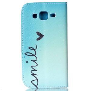 Pictu peněženkové pouzdro na Samsung Galaxy J5 - smile - 2