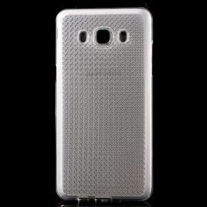 Diamonds gelový obal mobil na Samsung Galaxy J5 (2016) - transparentní - 2