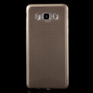 Diamonds gelový obal mobil na Samsung Galaxy J5 (2016) - šedý - 2