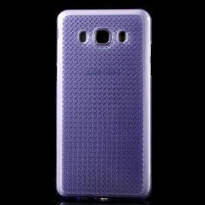 Diamonds gelový obal mobil na Samsung Galaxy J5 (2016) - fialový - 2