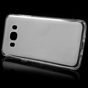 Oboustranně matný gelový obal na Samsung Galaxy J5 (2016) - bílý - 2