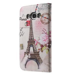 Nice peněženkové pouzdro pro Samsung Galaxy J5 (2016) - Eiffelova věž - 2