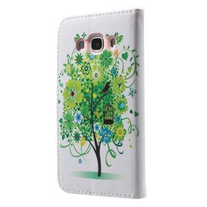 Nice peněženkové pouzdro pro Samsung Galaxy J5 (2016) - ptačí strom - 2