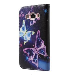 Nice peněženkové pouzdro pro Samsung Galaxy J5 (2016) - kouzelní motýlci - 2