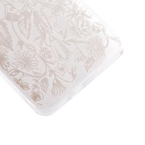 Ultratenký gelový obal na Samsung Galaxy J5 (2016) - květiny - 2