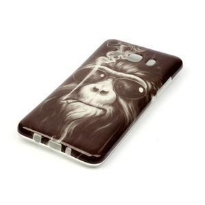 Jelly gelový obal na Samsung Galaxy J5 (2016) - orangutan - 2