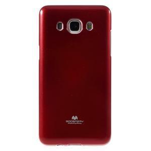 Newsets gelový obal na Samsung Galaxy J5 (2016) - vínověčervený - 2
