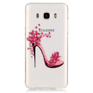 Průhledný obal na mobil Samsung Galaxy J5 (2016) - střevíc - 2