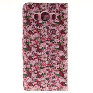 Pictures pouzdro na mobil Samsung Galaxy J5 (2016) - koláž květin - 2