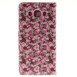 Pictures pouzdro na mobil Samsung Galaxy J5 (2016) - koláž květin - 2/7