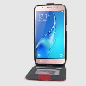 Flipové pouzdro na mobil Samsung Galaxy J5 (2016) - červené - 2