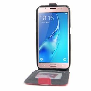 Flipové pouzdro na mobil Samsung Galaxy J5 (2016) - rose - 2