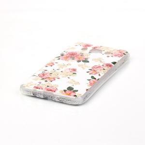Softy gelový obal na mobil Samsung Galaxy J5 (2016) - květiny - 2