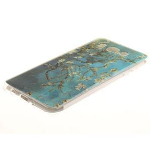 Gelový obal na mobil Samsung Galaxy J5 (2016) - kvetoucí strom - 2
