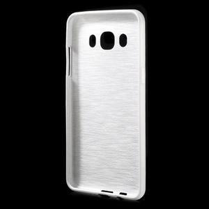 Brushed gelový obal na mobil Samsung Galaxy J5 (2016) - bílý - 2
