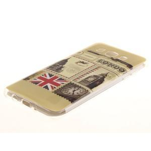 Gelový obal na mobil Samsung Galaxy J5 (2016) - United Kingdom - 2