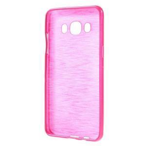 Brushed gelový obal na mobil Samsung Galaxy J5 (2016) - rose - 2