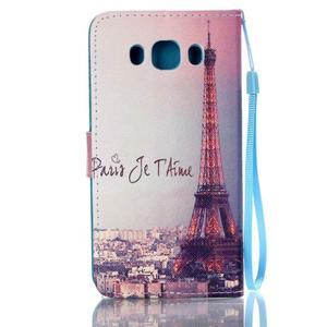 Etny pouzdro na mobil Samsung Galaxy J5 (2016) - Eiffelova věž - 2