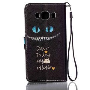 Etny pouzdro na mobil Samsung Galaxy J5 (2016) - nedotýkej se - 2