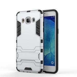 Odolný kryt na mobil Samsung Galaxy J5 (2016) - stříbrný - 2