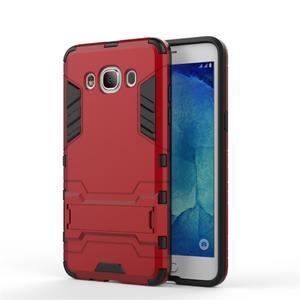 Odolný kryt na mobil Samsung Galaxy J5 (2016) - červený - 2