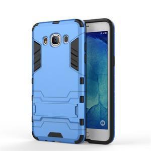Odolný kryt na mobil Samsung Galaxy J5 (2016) - modrý - 2