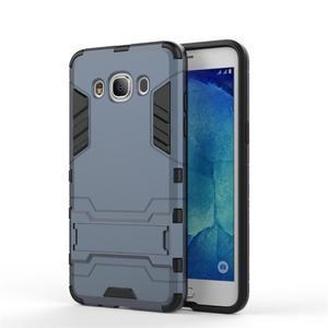 Odolný kryt na mobil Samsung Galaxy J5 (2016) - šedomodrý - 2