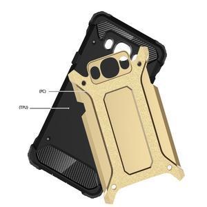 Armor 2v1 odolný obal na Samsung Galaxy J5 (2016) - zlatý - 2